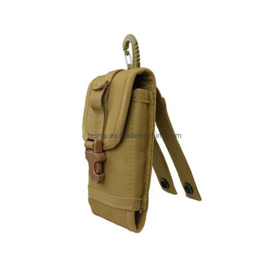 Camouflage Molle Tactical Radio Case Cell Mobile Smart Phone Pouch Holder Military Tool Utility Bag