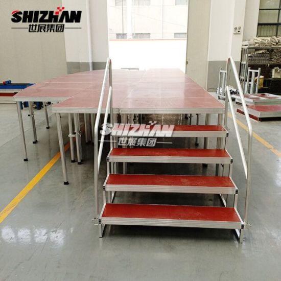 Adjustable Height Aluminum Portable Stage Platform