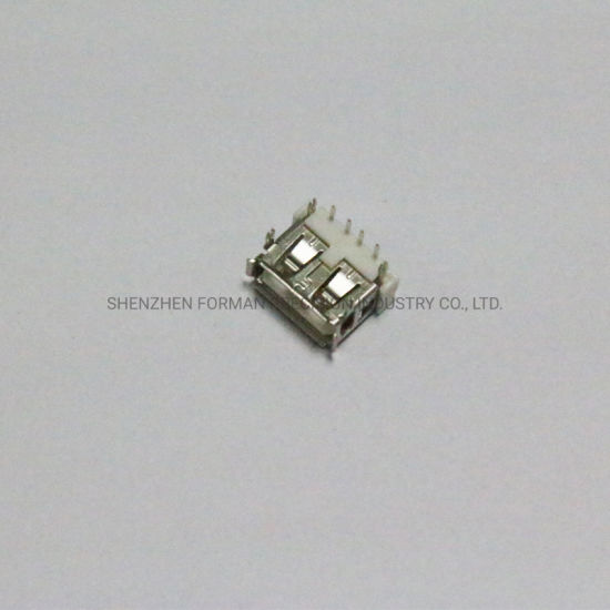 PCB Electrical Components USB 2.0 Receptable Plug 4 Pins Female Socket Electronic Spare Parts