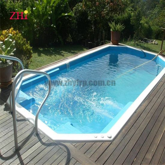 Wholesale 20FT 40FT Portable Container Fiberglass Swimming Pool for Sale