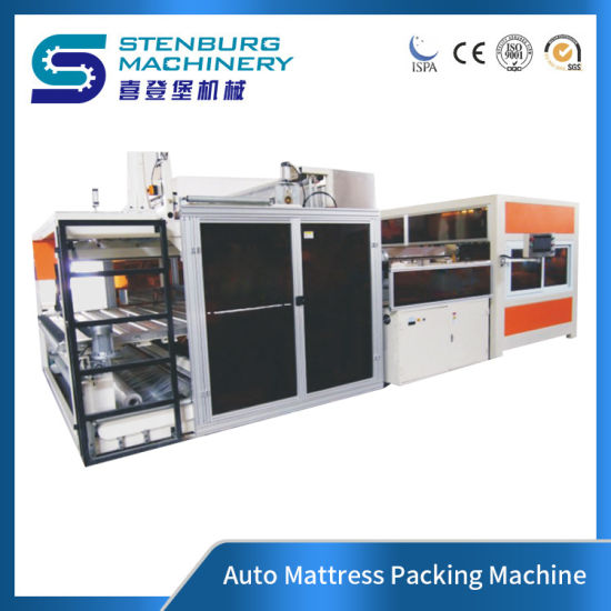 Mattress Film Auto Packing Machine High Efficiency