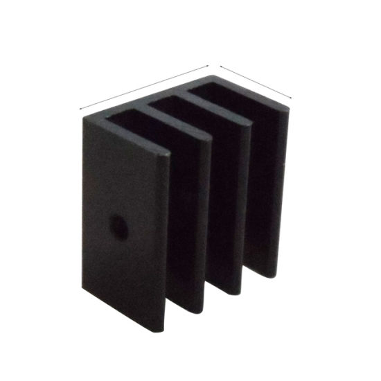 Extruded Heat Sink Aluminum LED Heatsink Profiles