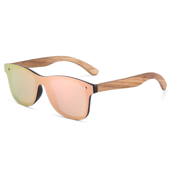 Cat. 3 Spring Hinge for Wooden Flat One Piece Lens Sunglasses