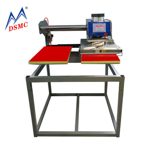 Semi-Automatic Double Station Pneumatic T-Shirt Heat Transfer Printing Machine