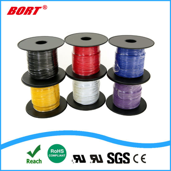 UL1672 Reinforced Hook up Wire PVC Insulation