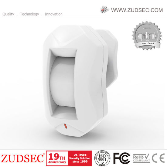 433MHz Wireless Ceiling/Curtain /Window /Door Infrared PIR Motion Detector for Alarm System Using pictures & photos
