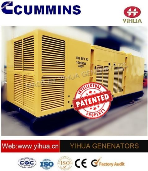 Ccec Container Diesel Power Electrical Generator with Cummins Engine 620-1500kw[IC180207b] pictures & photos