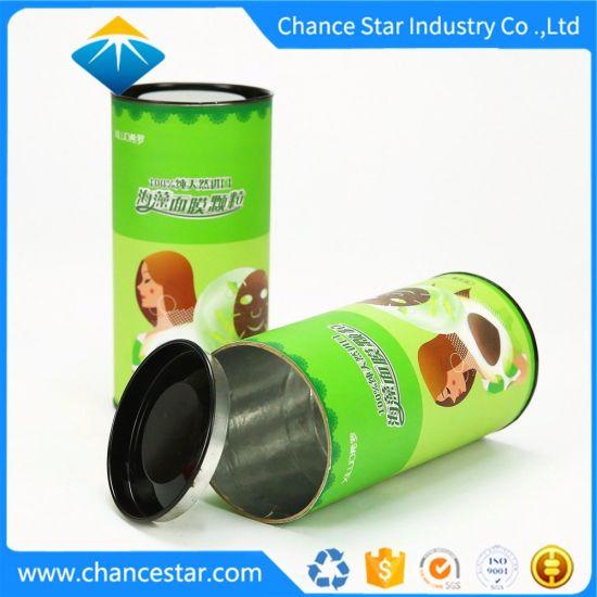 Custom Foil Lined Paper Packaging Tube for Mask Powder