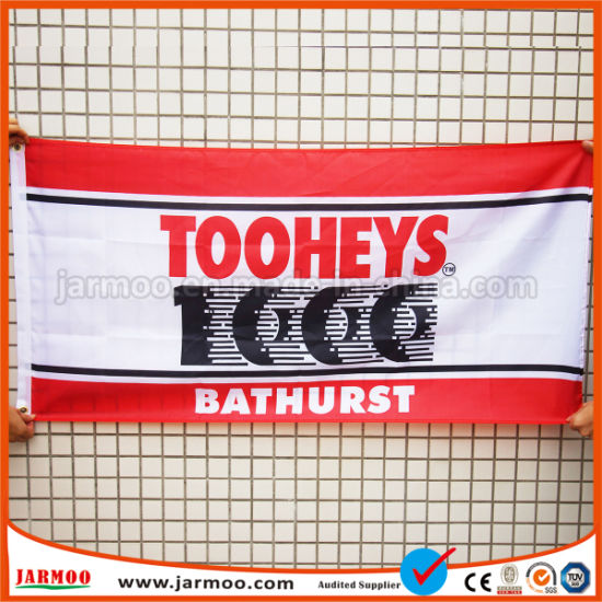 Custom Printed Polyester Flag Banner pictures & photos