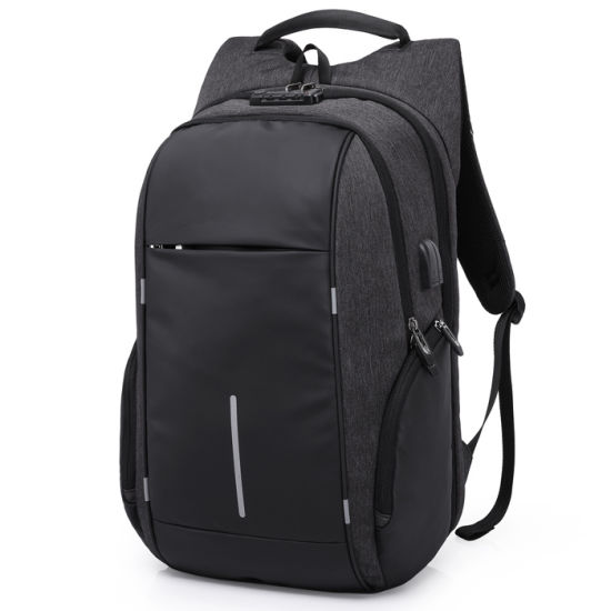 Laptop Business Fashion School Bags Waterproof Backpack pictures & photos