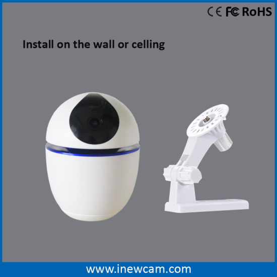 1080P 360 Auto Tracking WiFi Battery Powered IP Camera Baby Monitor pictures & photos