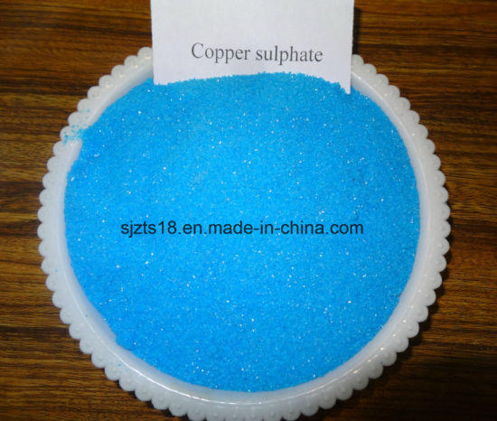 Copper Sulphate for Feed / Agriculture / Electroplating
