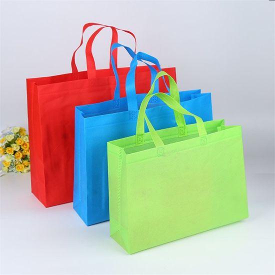 Non Woven Bag, Wholesale Reusable PP Polypropylene Laminated Spunbond Tote Shopping Promotional Bag, Gift Bag, Garment Suit Bag, Wine Bag