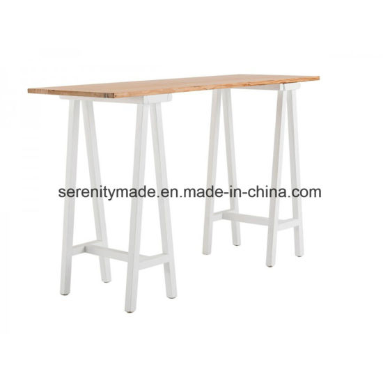 Bar Furniture Outdoor Event Wooden High Bar Table
