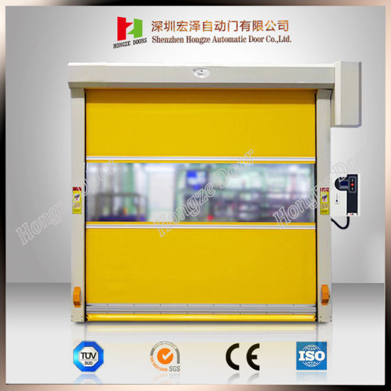 Auto High Speed Roller Shutter with SGS Certification Roll up (Hz-H004)