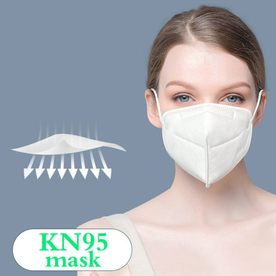 Ce FDA Kn95 Protective Mask Anti-Dust Outdoor High Efficiency Filtration