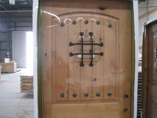 Speakeasy and Decorative Clavos and Grill Wrought Iron Exterior Door & China Speakeasy and Decorative Clavos and Grill Wrought Iron ...