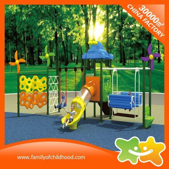 China Multifunction Tube Slide And Swing Set Playground Equipment