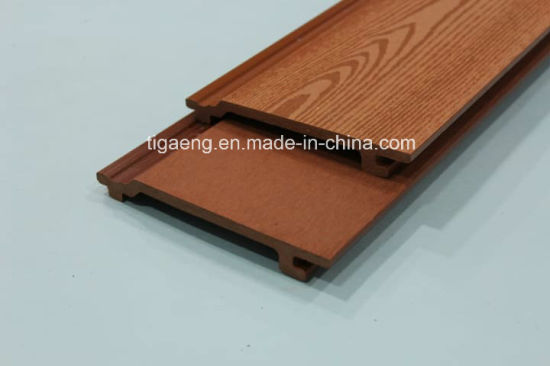 Water Proof Wood PE Composite Decking Floor WPC Wall Panel pictures & photos