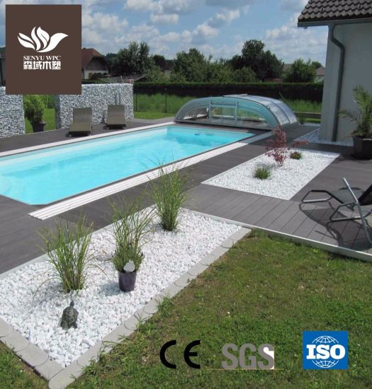 Outdoor Durable WPC Wood Plastic Composite Solid Flooring Decking Board