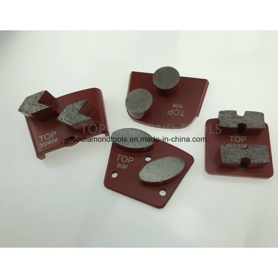 Diamond Grinding Plates for Concrete / Terrazzo Floor Grinding and Polishing pictures & photos