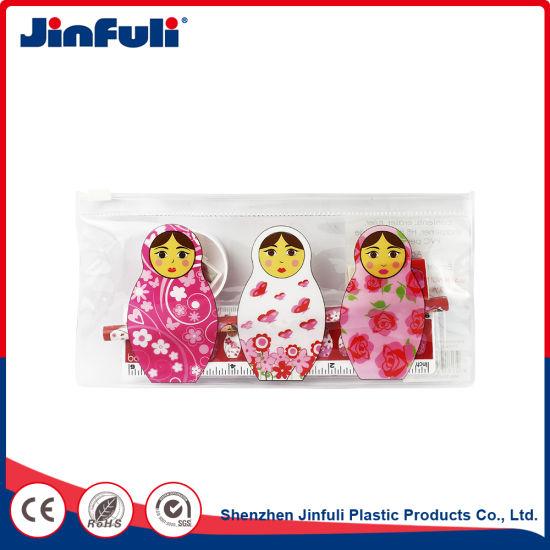 Pencil Case PVC Bag Clear Packaging Bag School Supplies