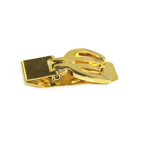 Top Quality Blank Logo Custom Gold Money Clip