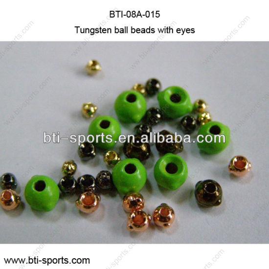 Angelsport-Fliegen-Bindematerialien 1000  Tungsten Fly Tying Bead Heads  Black 1.5MM Angelsport-Artikel