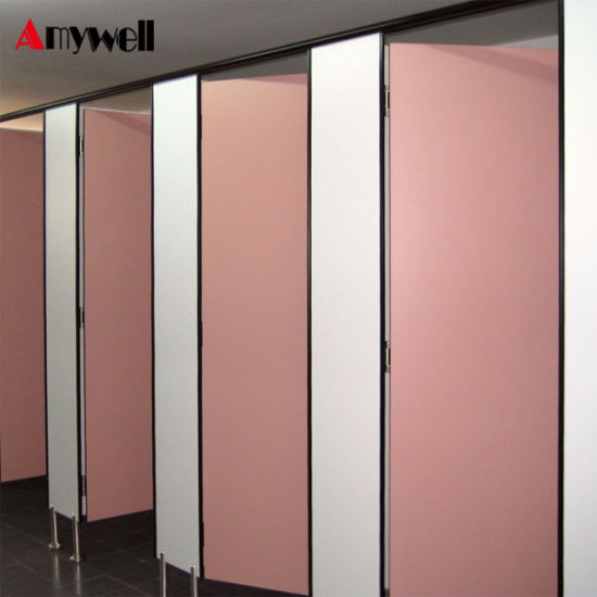 Genial Amywell Gym Changing Room Waterproof Compact HPL Used Bathroom Partitions