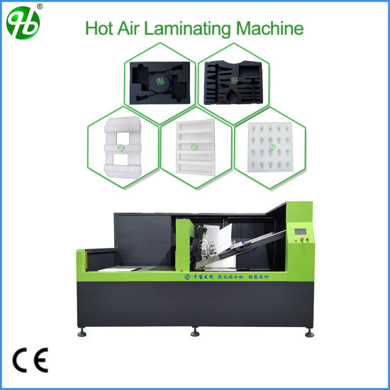 China Best Lamination Machine for Foam End Caps Foam Insets
