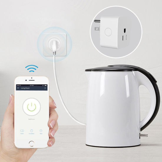 China 2018 Hot Sale Us Standard Wireless WiFi Smart Plug Outlet ...