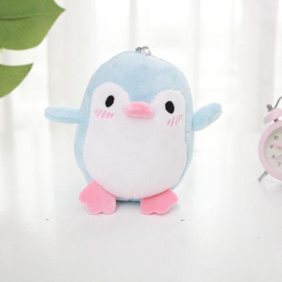 Mini Penguin Plush Pendant Stuffed Toy Key Chain Penguin Gift