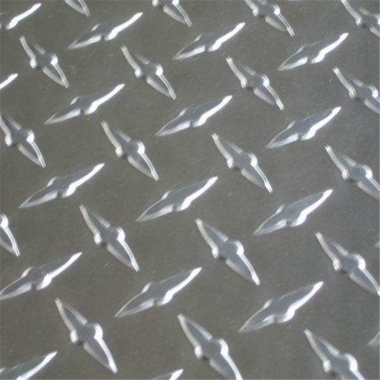 Supply Checkered Aluminium Plate 1060, 1070, 5754, 6061 pictures & photos
