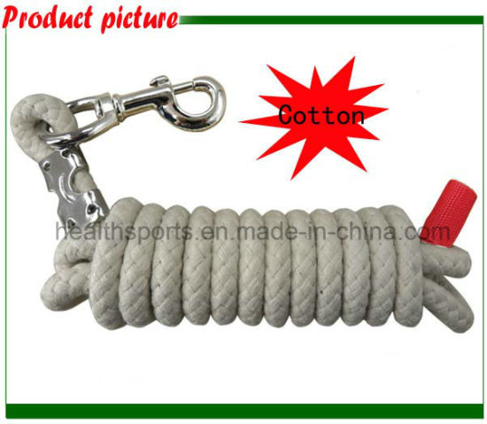 Weaver 100% Cotton Lead Rope with a Snap Hook White pictures & photos