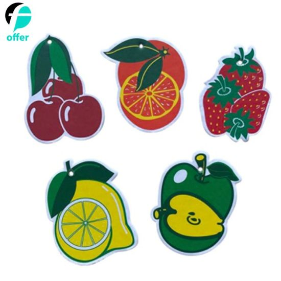 Fruit Scent Paper Car Air Freshener pictures & photos
