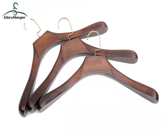 Garment Wooden Coat Hanger for Man Clothes Suit Furniture Fashion Display pictures & photos