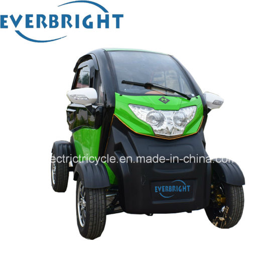 Lithium Battery 60V Ce Full Closed 3 Seat Adult Mini Electric Car pictures & photos