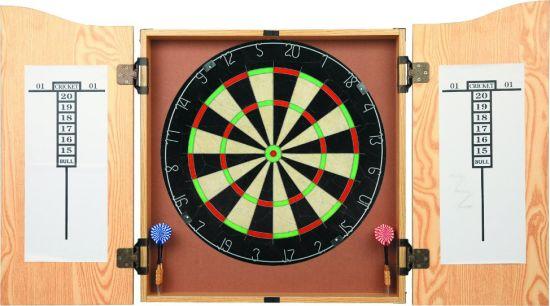 Professional Sport Game Sisal Dartboard Cabinet Bristle Dartboard