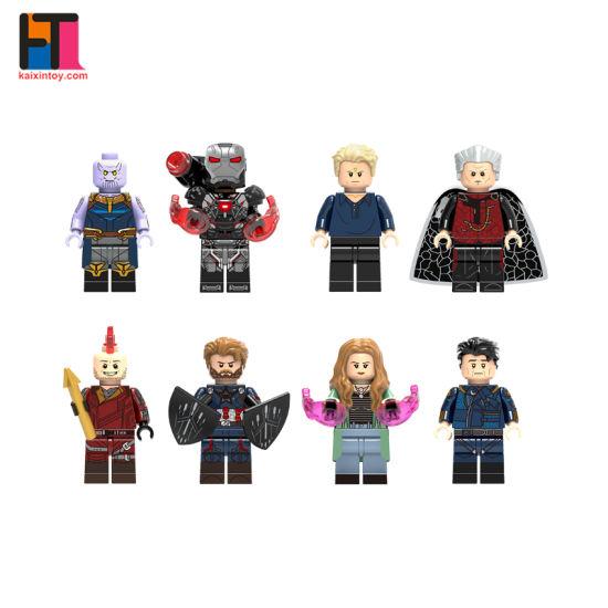 Super Hero Plastic Building Blocks Marvel Minifigure Toys