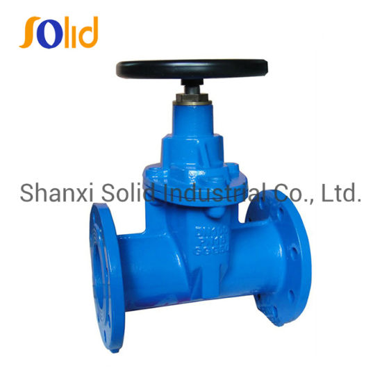DIN 3352 F4/F5 Ductile Iron Pn25 Resilient Seated Gate Valve