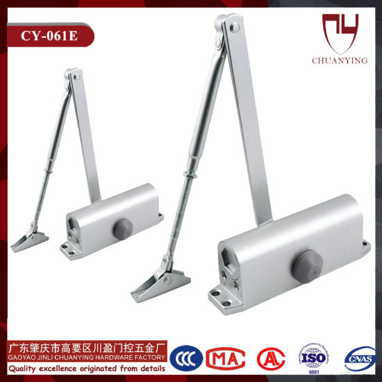 Standard Rounded Type Aluminium Door Closer