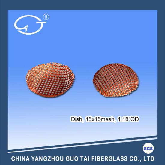 High Temp. Resistance High Filtration Efficiency Filter Disc for Aluminum Solution