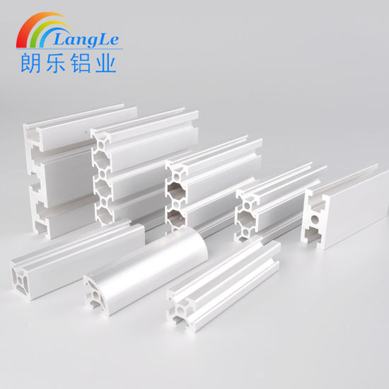 China Factory Provide 20X20 Aluminium Extrusion Profile Extruded ...