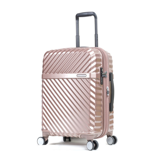 2018 New Design Suitcase, Lightweight ABS Luggage pictures & photos