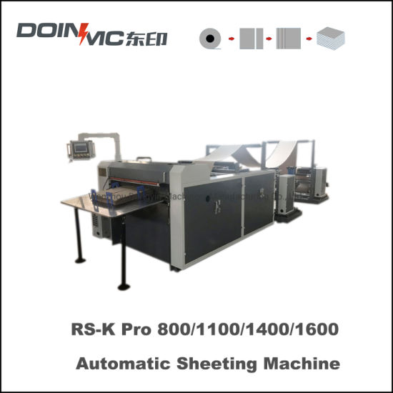 Automatic Package Material Roll Sheeting Machine Doinmc Brand New Price