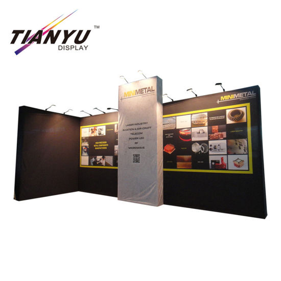 Modern Pop up Display Exhibition Booth for Trade Show