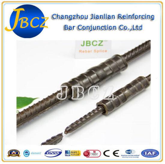 China Aci-318 Standard Threadless Cold Press Rebar Sleeve