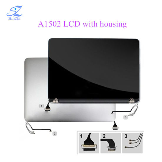 Laptop Original A1502 Assembly LCD Screen for MacBook PRO Retina Screen  panel 13′ with Housing