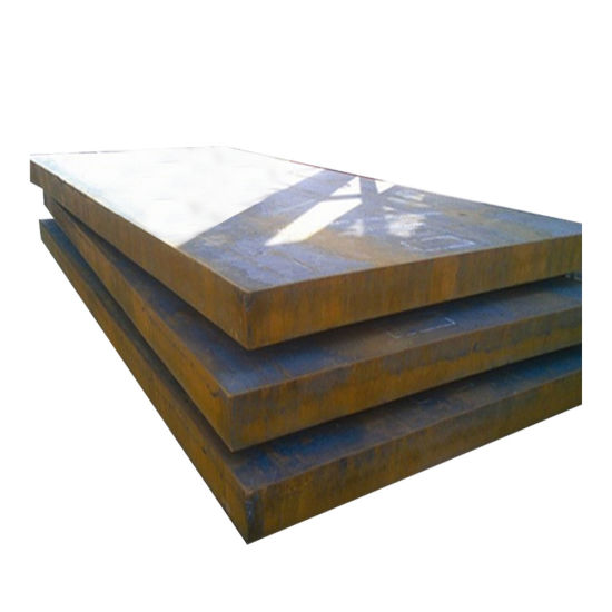 ASTM A36/Ss400/Q235B High-Strength Black Carbon Hot Rolled Steel Plate