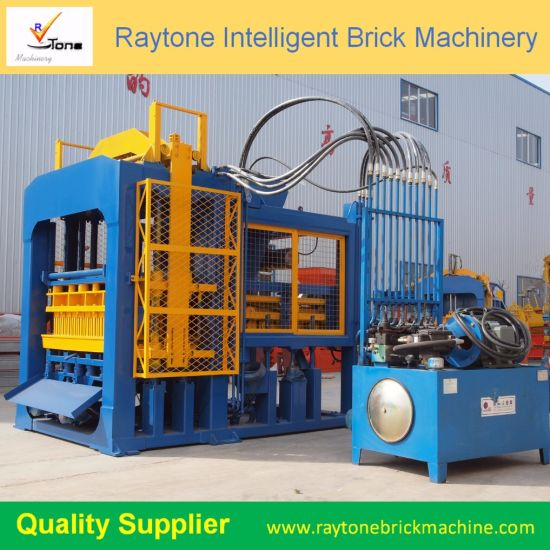 Qt10-15D Automatic Cement Block Machine Hollow Brick Making Machine